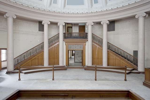 Courthouse of Stairs