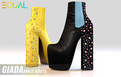EQUAL - Giada Ankle Boots