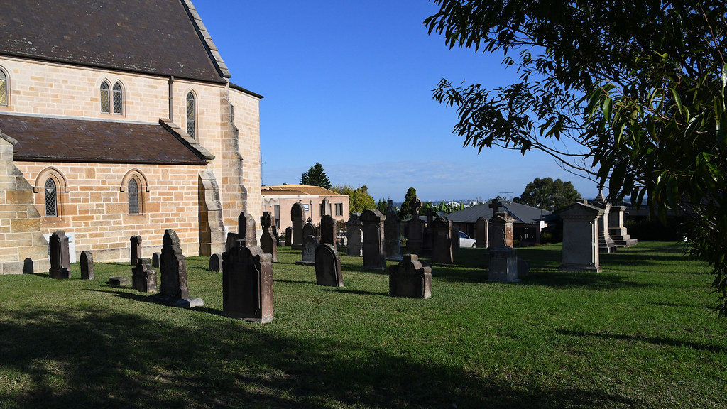 St Charles Borromeo Catholic Church Cemetery, Ryde, Sydney, NSW.