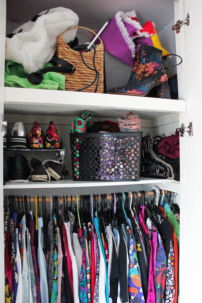 Wardrobe Organisation - Storage Boxes, Baskets and Shoes