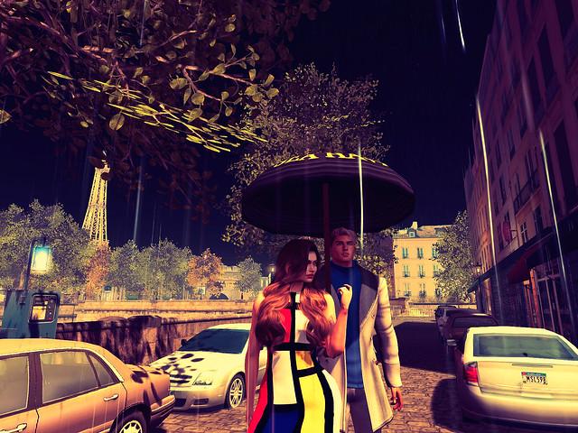 Midnight in Paris. - Singing In A Parisian Rain