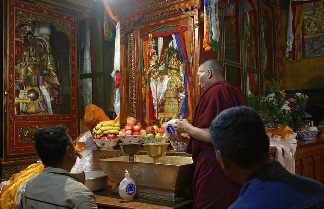 Pilgrims at Nechung Chok, Tibet 2019