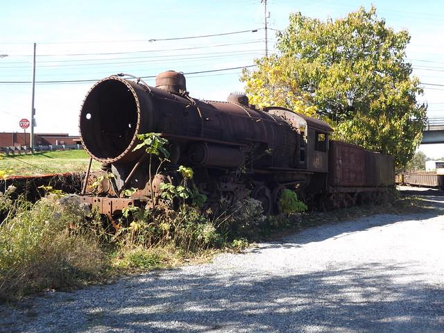 Lost locomotive of Roanoke