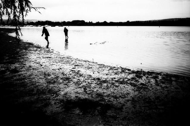 On the beach (Contax G1)