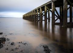 Pier, River Clide, Port Glasgow,Renfrewshire, Scotland, UK