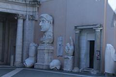 Fragmentos de una estatua colosal de Constantino