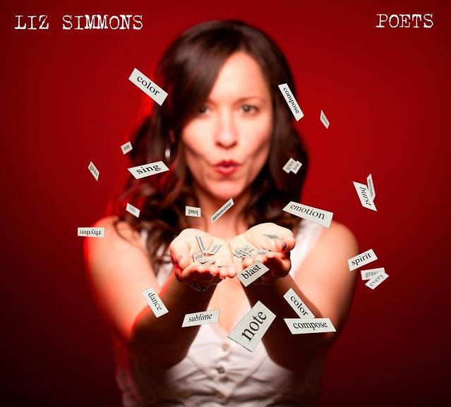 Liz Simmons • Poets album cover