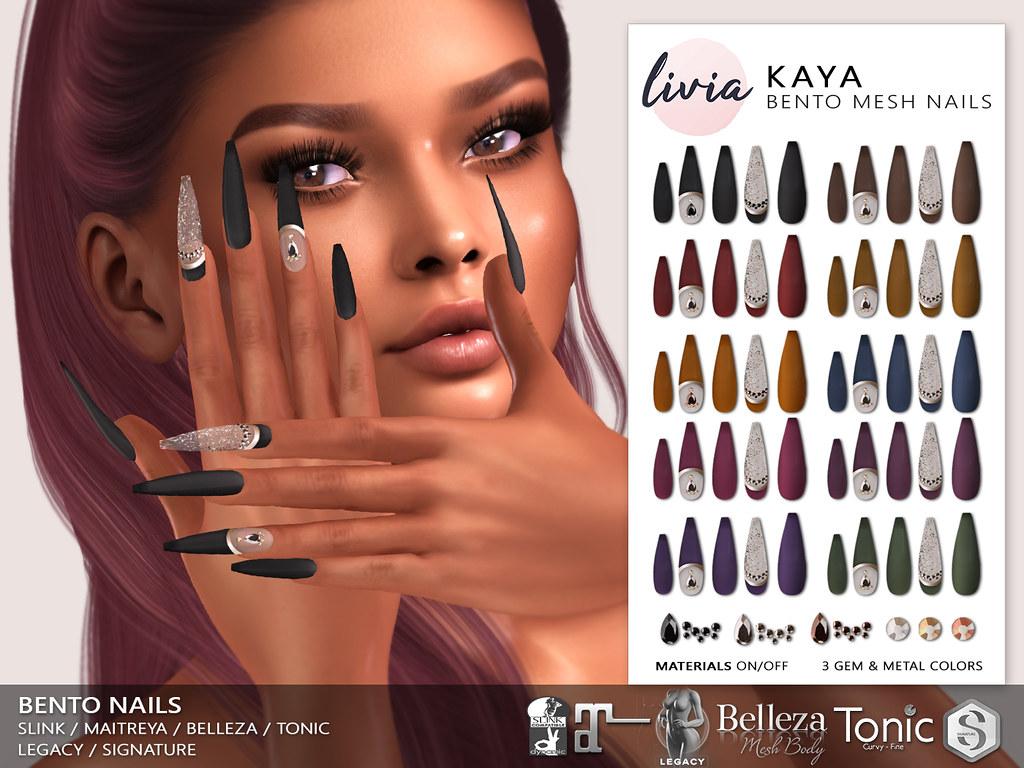 LIVIA // Kaya Bento Nails