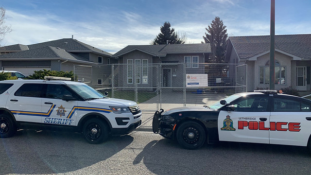 Sheriffs shut down Lethbridge drug house