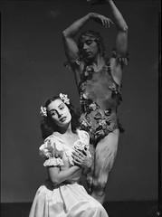Tamara Toumanova in Le Spectre de la rose (The Spirit of the rose), 1940, by Max Dupain