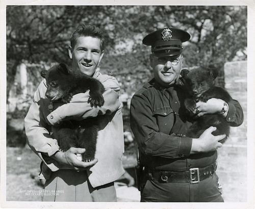 Baylor University-Bear Mascot-7-1950s