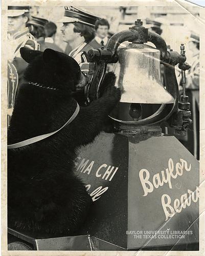 Baylor University-Bear Mascot-3-1970s