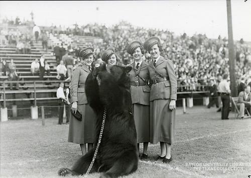 Baylor University-Bear Mascot-1940s