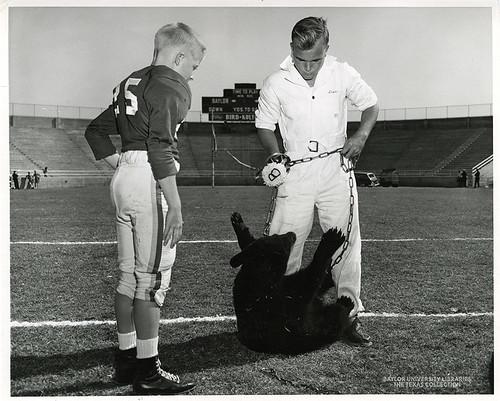 Baylor University-Bear Mascot-9-1950s