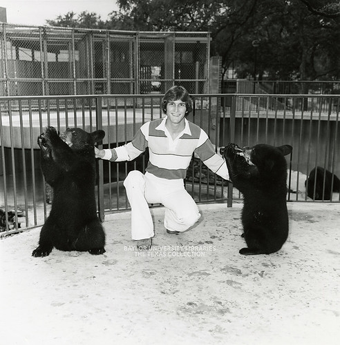 Baylor University-Bear Mascot-1970s