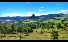 Morro do Cuscuzeiro dominando a paisagem.