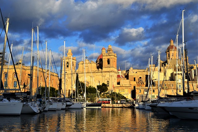 Valletta Harbour Malta. Nikon D3100. DSC_0785.