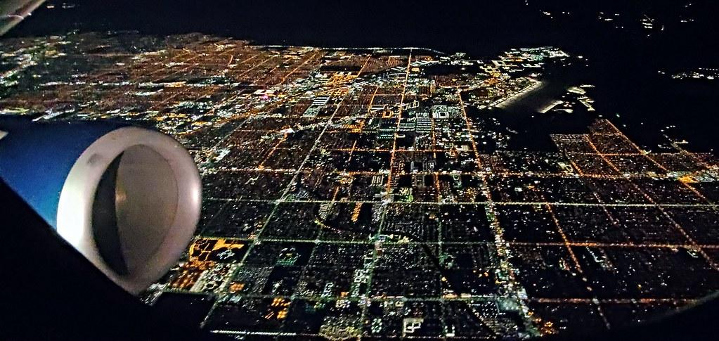 Flying out of McCarran International Airport in Las Vegas