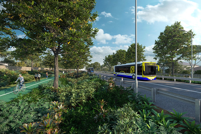 North west transport network transport ideas - artist's impressions