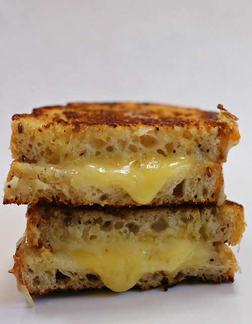 2020 Sydney: Pan-fried 4 Cheese Sandwich