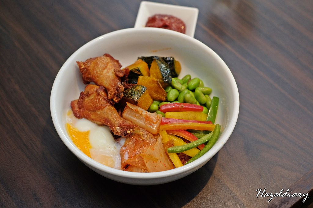 White Rose Cafe York Hotel Singapore - Korean Grain Bowl