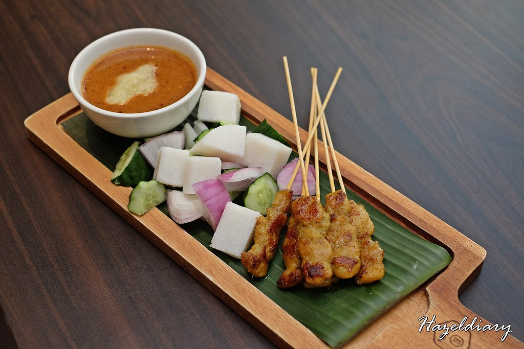 White Rose Cafe York Hotel Singapore - Chicken Satay