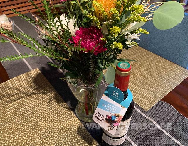 Callia flowers and Bordeaux-5