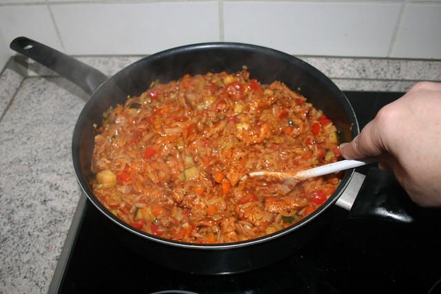 37 - Let parmesan melt / Parmesan schmelzen lassen