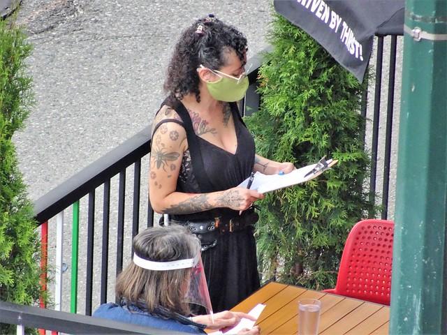 Tattoed Waitress
