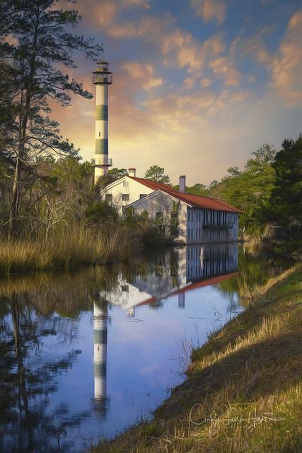 Pumping Station/Lodge Lake Mattamuskeet (explore)