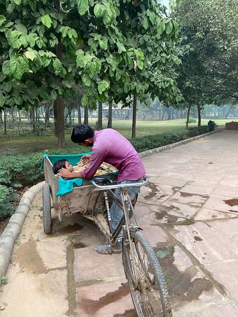 City Moment - Leaf Gatherer's Daughter, Deer Park