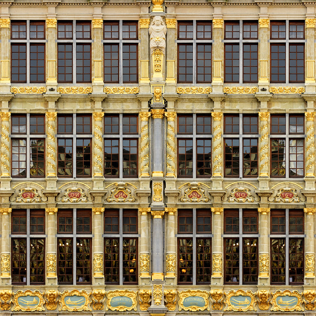 Belguin - Brussels - Grand Place facade 01_sq flipped_DSC0564