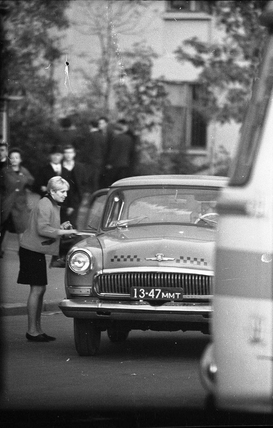 1970-е. Такси