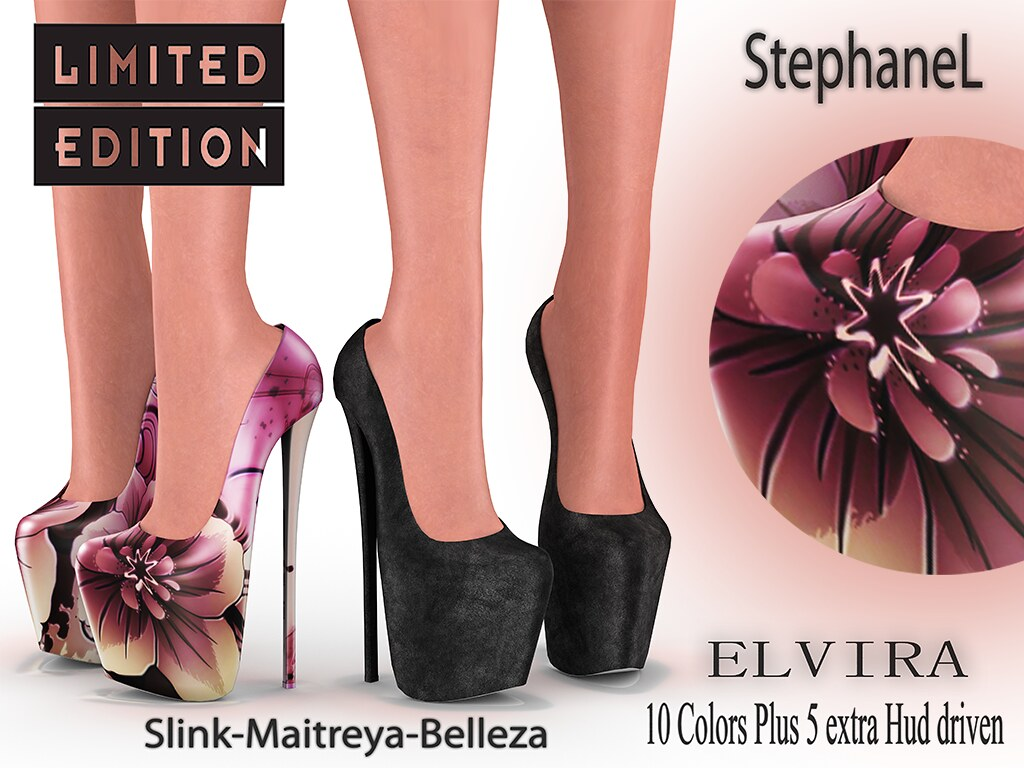 60L [StephaneL] ELVIRA SHOES LIMITED EDITION FATPACK