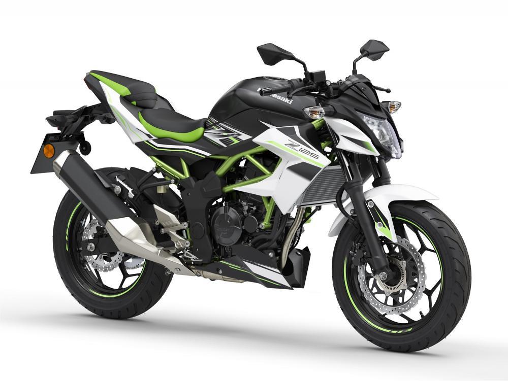 New Kawasaki Z125 2021 Peral Flat Stardust White
