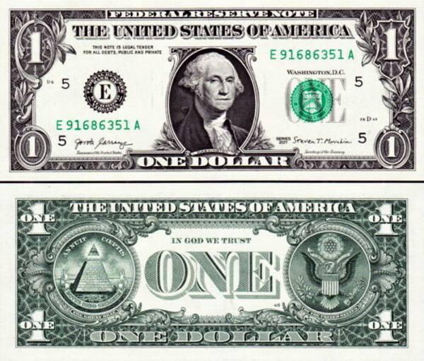 1 americký dolár USA 2017 E, P544aE Virginia