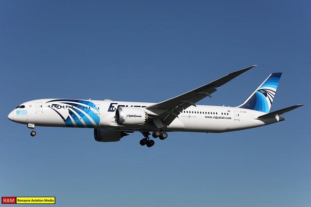 SU-GEU   Boeing 787-9 Dreamliner   Egyptair