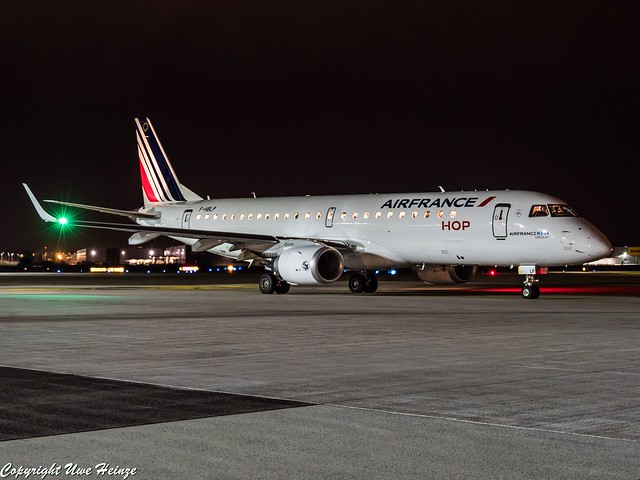 Air France F-HBLP HAJ at Night
