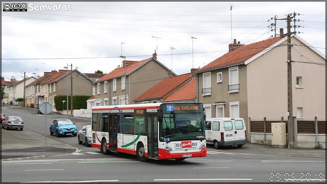 Heuliez Bus GX 127 L – TPC (Transports Publics du Choletais) / CholetBus n°37