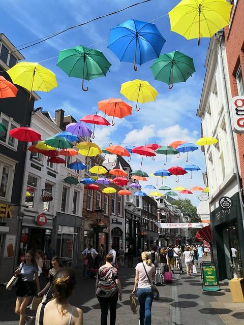 Umbrella street, Utrecht