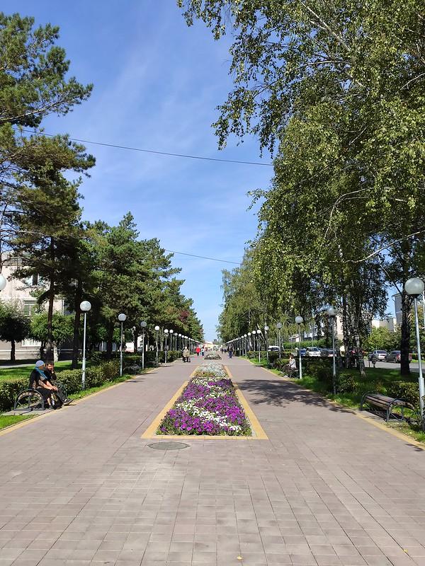 Белово - Улица Советская