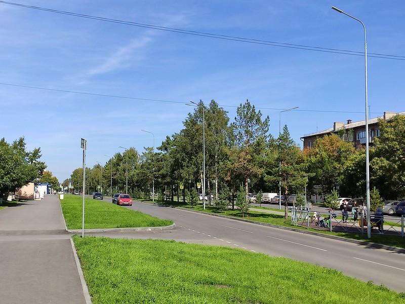 Белово - Автодорога на улице Советской