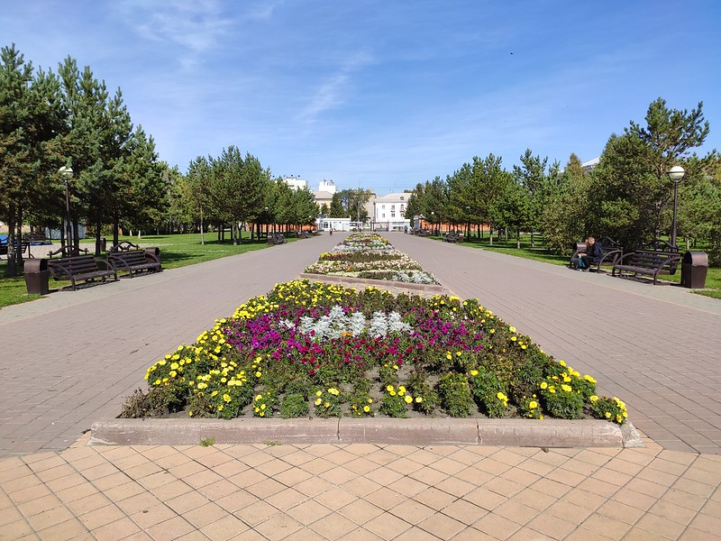 Белово - Парк Молодежный