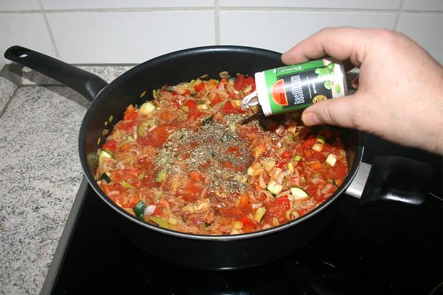 31 - Taste with paprika, oregano, thyme & basil / Mit Paprika, Oregano, Thymian & Basilikum abschmecken