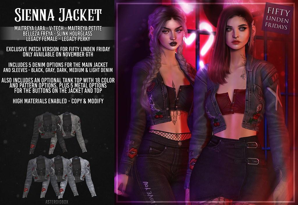 AsteroidBox. Sienna Jacket - FLF Exclusive