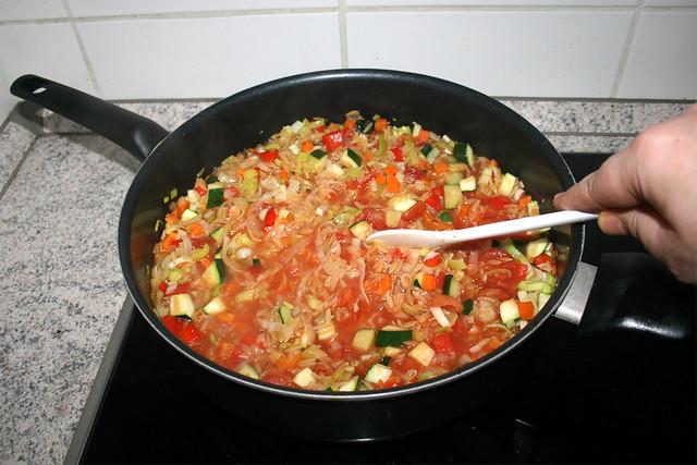 28 - Stir & bring to a boil / Verrühren & aufkochen lassen