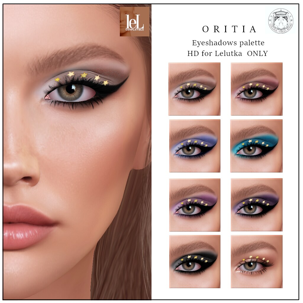 ORSY EVENT EXCLUSIVE -Poema – Oritia Eyeshadows