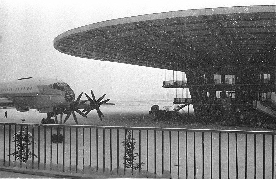 1970-е. Аэропорт «Шереметьево».