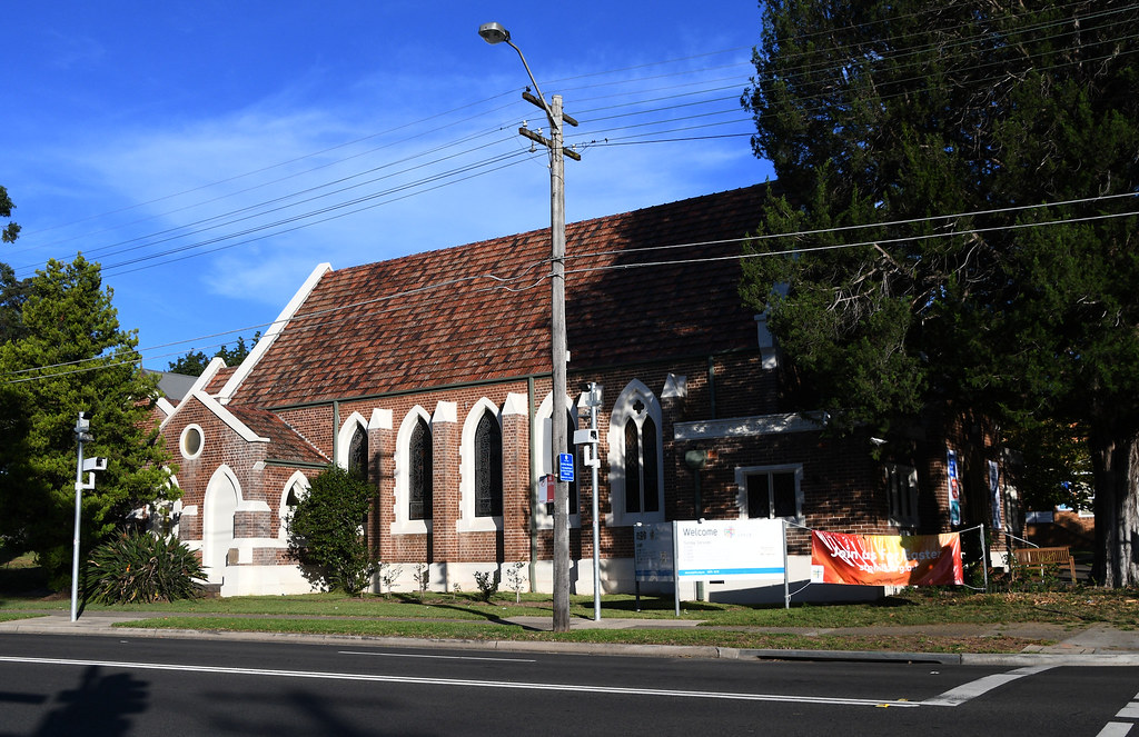 St Philip's Anglican Church, Eastwood, Sydney, NSW.