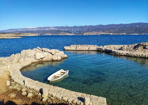 port boat beach landscape sea xiaomi smartphone phone